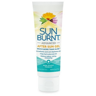 SunBurnt Advanced After Sun Gel 2.5 oz