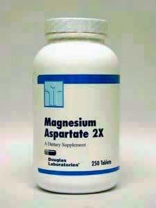 Douglas Labs Magnesium Aspartate 2X 250 tabs
