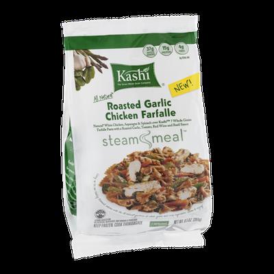 Kashi Steam Meal Roasted Garlic Chicken Farfalle