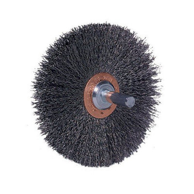 Weiler Stem-Mounted Conflex Brushes - cfx-1 1/2 .01181 1/2in dia