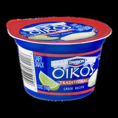 Dannon Oikos Greek Recipe Dairy Snack Key Lime