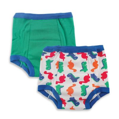 Baby Vision Luvable Friends 2 Pack Water Resistant Training Pants - Dino (4T)