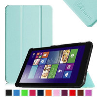 Fintie Slim Shell Case Lightweight Stand Cover For New Dell Venue 8 (2014 Version) 8-Inch Android Tablet, Blue
