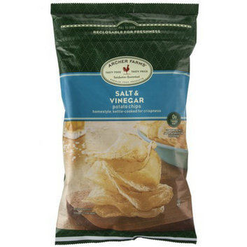 Archer Farms Salt & Vinegar Homestyle Kettle-Cooked Potato Chips - 8