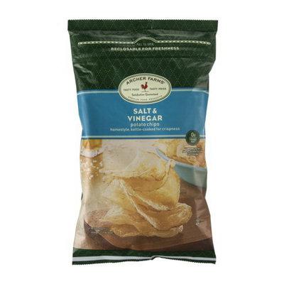 Archer Farms Salt & Vinegar Homestyle Kettle-Cooked Potato Chips - 8