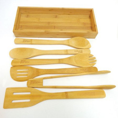 Natural Home Products Natural Home 7 Piece Serving Tray