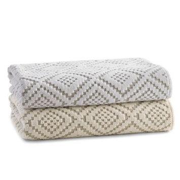 Horchow Etoile Face Cloth - ECRU (FACE TOWEL)