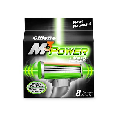 Gillette Mach3 M3 Power Refill Cartridges