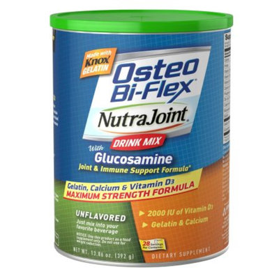 Osteo Bi-Flex Knox NutraJoint Drink Mix with Glucosamine