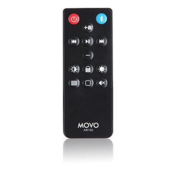 Movo Photo Movo AR150 Wireless Bluetooth Multi-Media Remote Control for Apple iPhone, iPad, iPod, iMac, MacBook Air, MacBook Pro, MacBook, and Mac Mini with Camera, Volume