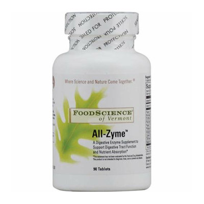 FoodScience of Vermont All-Zyme 90 Tablets
