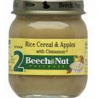 Beech-Nut® Stage 2 Rice Cereal & Apples with Cinnamon