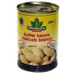 Bioitalia BG10824 Bioitalia Butter Beans - 12x14OZ