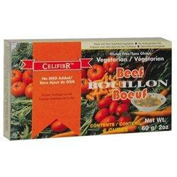 Celifibr BG11438 Celifibr Veg Beef Soup Cube - 12x2OZ