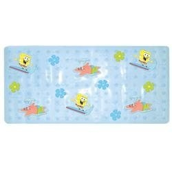 Ginsey Nickelodeon SpongeBob SquarePants Dimensional Vinyl Bath Mat Surfin