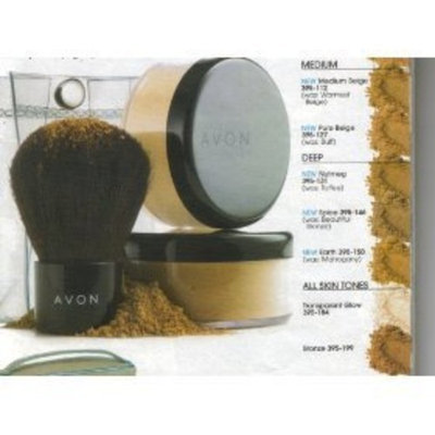 Avon Smooth Minerals Foundation Transparent Glow Powder 0.2 oz