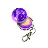 Ballmania Twist & Pout Lip Balm SPF 20 Lip Clip Key Chain