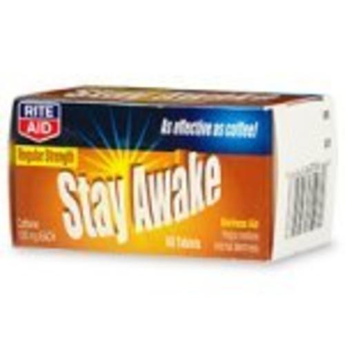 Rite Aid Stay Awake, Alertness Aid, Regular Strength Tablets 60 ea