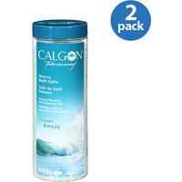 Calgon Relaxing Bath Salts, Ocean Breeze, 30 oz (Pack of 2)