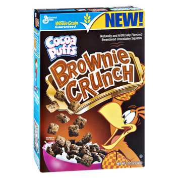 General Mills Cocoa Puffs Brownie Crunch Cereal