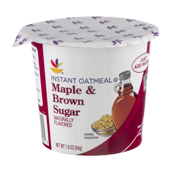Ahold Instant Oatmeal Maple & Brown Sugar