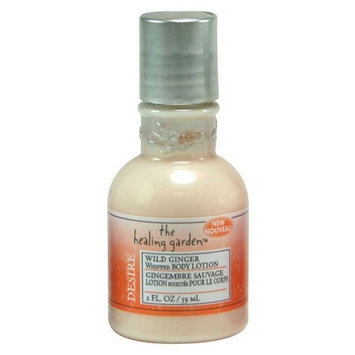 The Healing Garden Whipped Body Lotion - Wild Ginger: 2 OZ