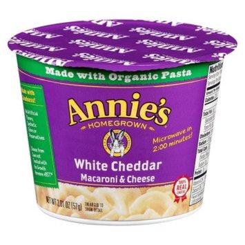 Annie's Homegrown White Cheddar Single Serving Macaroni & Cheese 2 oz
