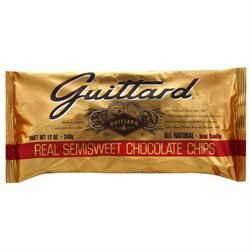 Guittard Guittard Semisweet Chocolate Chips 12 Oz Pack Of 12