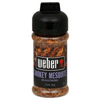 Weber Grill Seasoning Smoky Mesquite, 2.75 oz, 6 pk