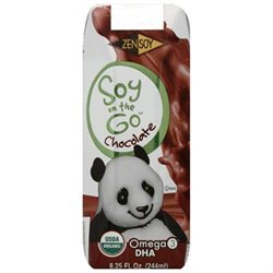 ZenSoy Organic Soy on the Go Chocolate 8.25 fl oz - Vegan