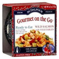 St. Dalfour Gourmet On The Go Wild Salmon with Vegetables - 6.2 oz