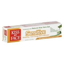 Kiss My Face Sensitive Toothpaste with Aloe Vera 3.4 oz