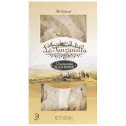 La Panzanella Black Pepper Croccantini Box 5.5-Ounce Boxes (Pack of 12)