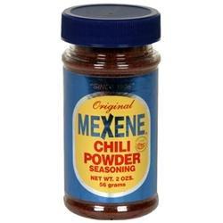 Mexene Chili Powder Seasoning - 12 Jars (2 oz ea)