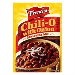 French's Frenchs Chili-O with Onion Seasoning Mix - 18 Packets (2.25 oz ea)