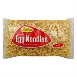 KeHe Distributors 38593 COLOMBIA NOODLE EGG WIDE - Case of 12 - 12 OZ