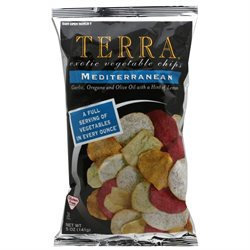Terra Vegetable Chips Mediterranean - 5.0 oz