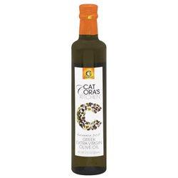 Cat Cora Greek Kalamata Extra Virgin Olive Oil - 6 Bottles (17 oz ea)