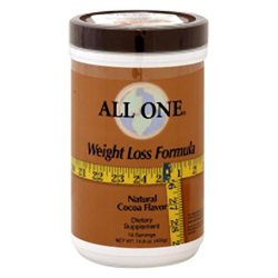 All-one nutri-tech All One Nutritech Weight Loss Formula Chocolate - 17.2 oz
