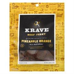 Krave Pineapple Orange Beef Jerky, 3.25 oz