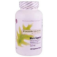 Frontier Natural Products Co-op 219426 FoodScience of Vermont Multiple Vitamin-Mineral Formulas Mens Superior 120 tablets