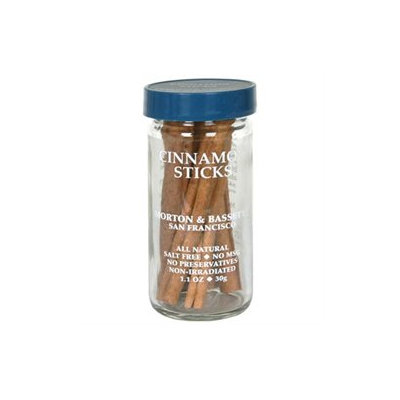 Morton & Bassett All Natural Cinnamon Sticks - 1.1 oz