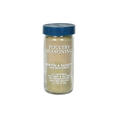 Morton & Bassett Poultry Seasoning -Pack of 3