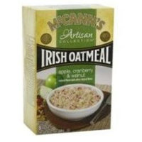 McCann's Artisan Collection Irish Oatmeal Apple Cranberry and Walnut - 8 Packets
