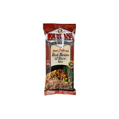 Louisiana Fish Fry Produ counts Red Beans and Rice Mix, 8 oz, - Pack of 12