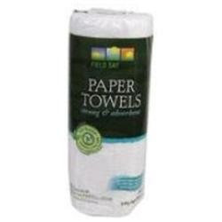 Field Day 100% Recycled Paper Towel 3 Rolls 60 Sheets -Pack of 10