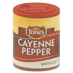 Tone's TONES 6686 TONES SSNNG PEPPER CAYENNE - Pack of 6 - 0.65 OZ