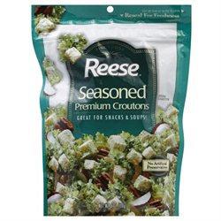 Reese Croutons Seasoned Croutons, 6 oz, 12 pk