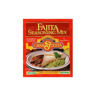 Casa Fiesta Fajita Seasoning 1-Ounce Packages -Pack of 24