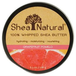 Shea Natural Whipped Shea Butter Grapefruit Pomegranate - 6.3 oz